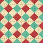 Ein Vektor bearbeitbare geometrischer retro abstrakt — Stockvektor