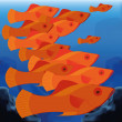 Background Scene With A Group Of Fishes — Stock Vector #48653671