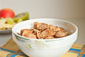 Photo of Corn flakes in bowl — Stock Photo