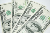 Photo of Dollars background — Stock Photo