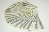 Photo of Dollars background — Foto Stock