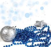 Photo of Christmas balls close-up — Stock Photo