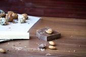 Chocolate candies truffle — Stock Photo