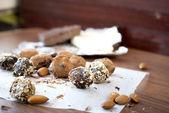 Choklad godis tryffel — Stockfoto