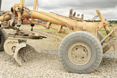 Work road machines — Foto Stock