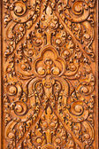 Wood carving — 图库照片