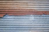 Rusted galvanized iron plate — Stock Photo