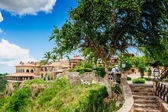 Ancient village Altos de Chavon — Stock Photo