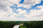 Tropical river Chavon in Dominican Republic — Stock Photo