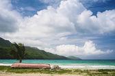 Panoramic beach — Stock Photo