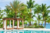 Swimming pool of luxury hotel — Stock Photo