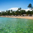 Tropical panoramic beach — Stock Photo