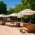 Luxury beach resort — Stock Photo