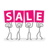 Sale — Cтоковый вектор