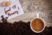 Morning Coffee — Stok fotoğraf