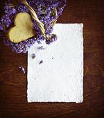 Herzförmige cookie — Stockfoto