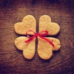 Sweet homemade gingerbread cookies — Stock Photo #43515947