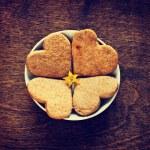 Sweet homemade gingerbread cookies — Stock Photo #43516349