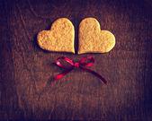 Sweet homemade gingerbread cookies — Stock Photo
