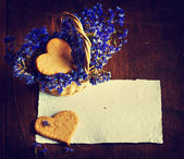 Biscoitos de açúcar doce caseiro — Fotografia Stock