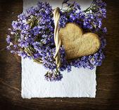 Biscuits au sucre fait maison douce — Photo