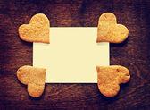 自家製の甘い砂糖クッキー — ストック写真