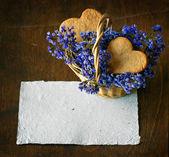 Sweet homemade sugar cookies — 图库照片
