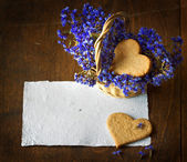 Sweet homemade sugar cookies — Stock Photo