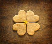 Sweet homemade gingerbread cookies — Stock Photo