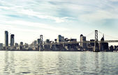 San Francisco Panorama — Stock Photo