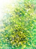 Sfondo di foglie verdi — Foto Stock