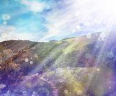 Jarní příroda pozadí — Stock fotografie