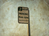 2 Hour Parking — Stock Photo