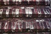 Brick staircase — Stock Photo