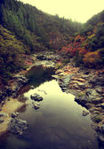 Yuba river in Northern California — Stock Photo