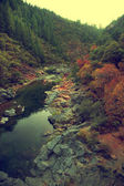 Yuba river  in mountains, Northern California — Stock Photo