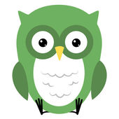 Wise Owl — Stock Vector