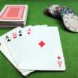 Poker Hand — Stock Photo