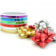 Colorful ribbons and bows — Stock Photo #44459443