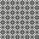 Seamless pattern witn ethnic ornament — Stock Vector