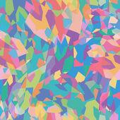 Patrón de flores abstractas — Vector de stock