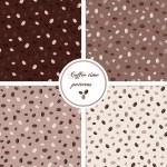 bezešvé vzory s kávová zrna — Stock vektor #44650925