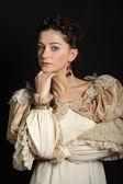 Baroque kız — Stok fotoğraf