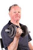 Fitness egzersiz yapan erkek — Stok fotoğraf