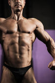 Athletic man posing — Stock Photo