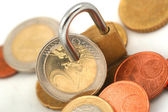 Protected coins — Stock Photo
