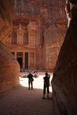 Petra manastırda — Stok fotoğraf