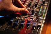 Mixing board — Stock Photo