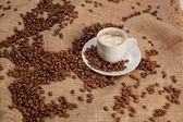Café en bolsa — Foto de Stock