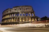 Colosseum at night — Stock Photo
